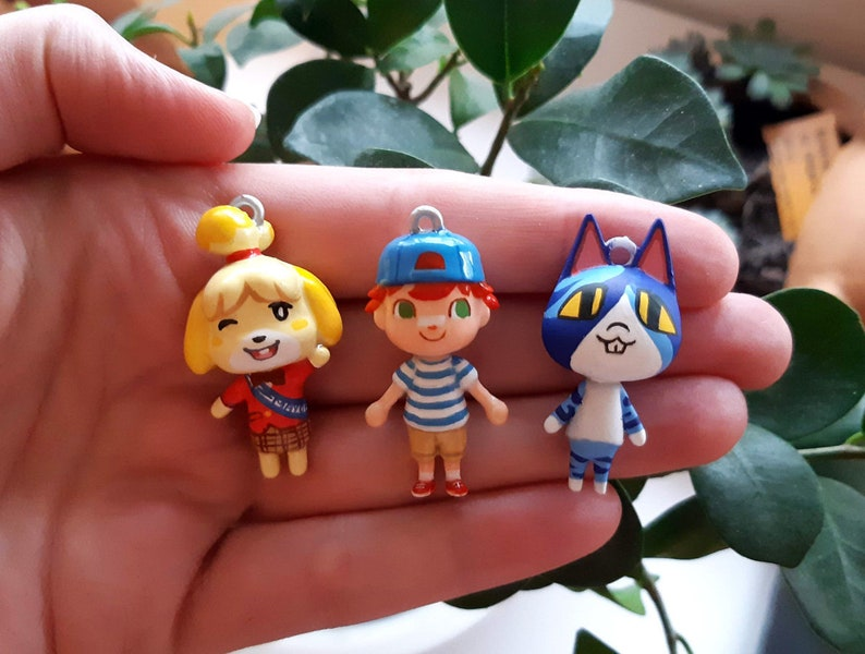 Animal Crossing charm or keychain Any Villager image 0