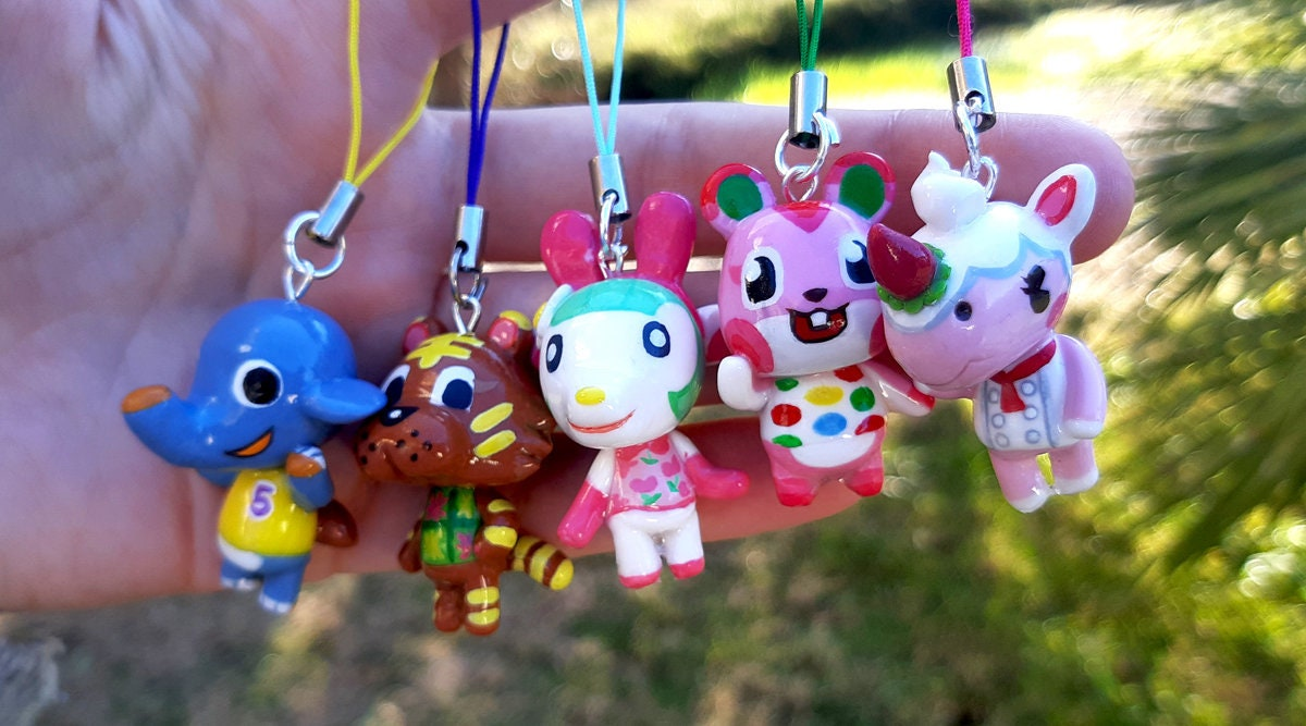 Animal Crossing New Leaf Villager 3ds Or Phone Strap Charm