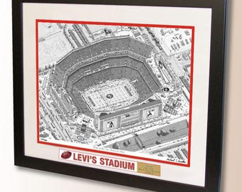 Levi's Stadium Art, home of the San Francisco 49ers