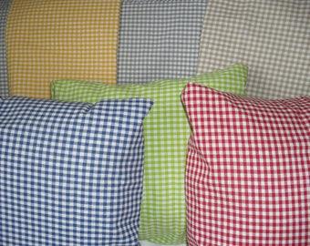 Cushion cover, Vichy Plaid