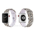 Cheetah, Animal Print, Leopard print Silicone Apple Watch Band with Free Shipping! Fits 38mm 40mm 42mm 44mm size watch