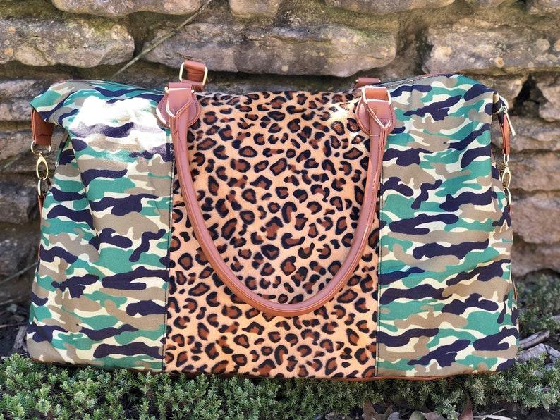 Camouflage Weekender Cheetah Weekender Personalized Luggage image 0