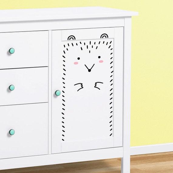 Paco der Igel Medium / Wand-Aufkleber für Ikea-Schränke | Etsy
