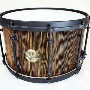 14x8 Aromatic Cedar Stave Snare Drum By Hhg Drums Etsy