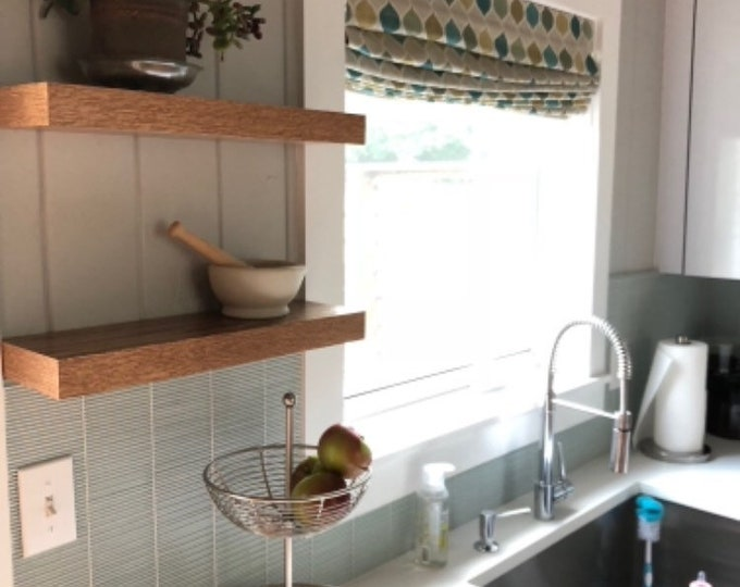 Featured listing image: Floating shelves - Modern Shelves - Wall Shelf - Book Shelf - Wood Shelf