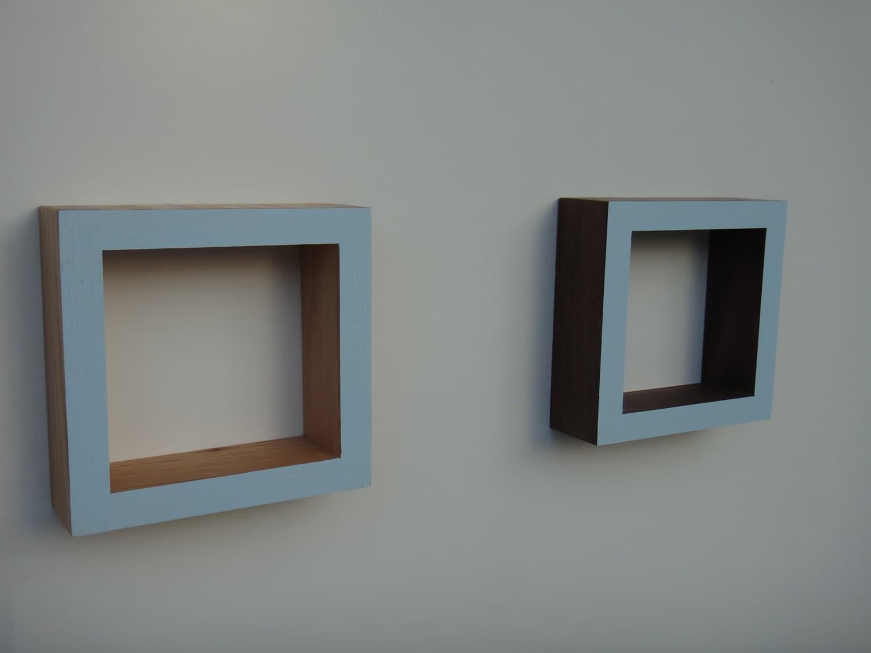 Shadow Box Frame - Wall shadow box - Oak or Walnut