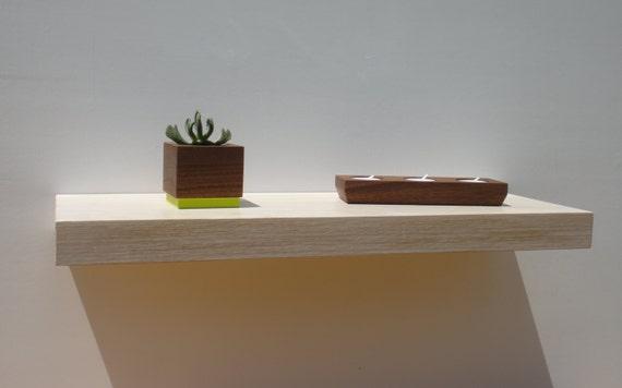Floating shelves - Modern Shelves - Wall Shelf - Book Shelf - Wood Shelf - set of 3