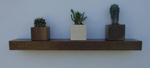 Floating shelves - Set of 4 - Free Shipping - Modern Shelves - Wall Shelf - Book Shelf - Wood Shelf