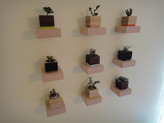 Floating shelves - Modern Shelves - Wall Shelf - Book Shelf - Wood Shelf
