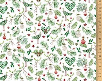 21 EUR/Meter acufactum fabric Kerstin Heß, wintergreen, woven cotton. Children's fabric
