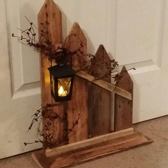 Primitive Decor Lantern Candle Holder Decor Rustic Home