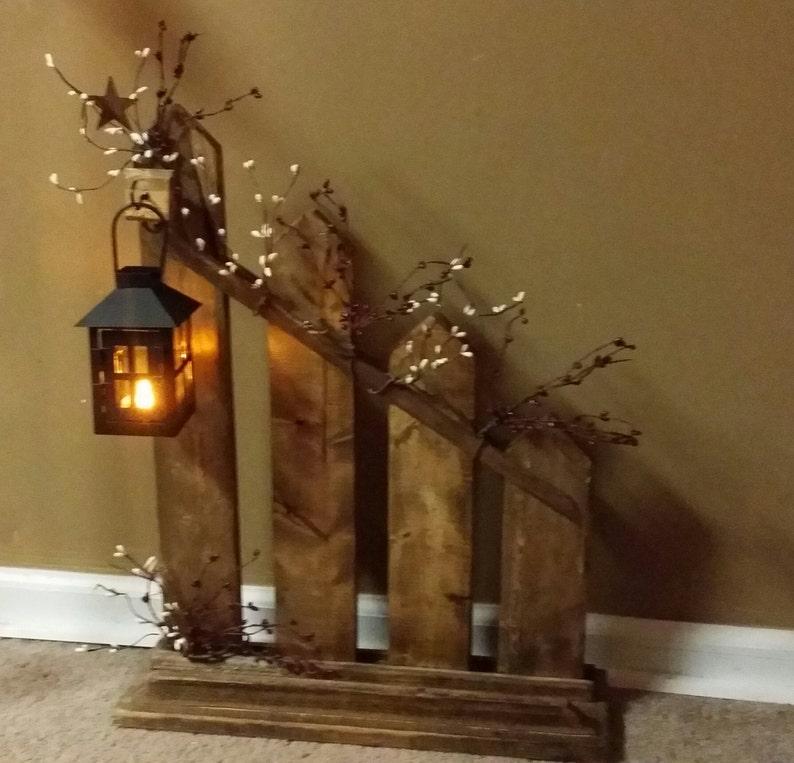 Rustic Home DecorPrimitive Lantern Candle Holder Decor