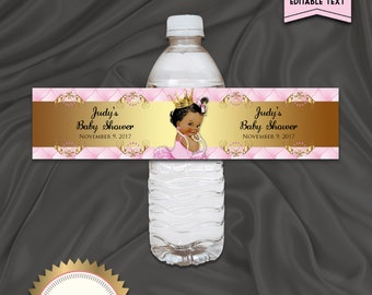 Printable Baby Shower Cupcake Toppers Little Prince Royal | Etsy