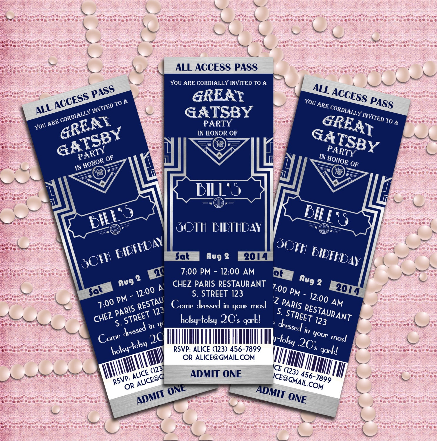 great gatsby style art deco party invitation prom etsy