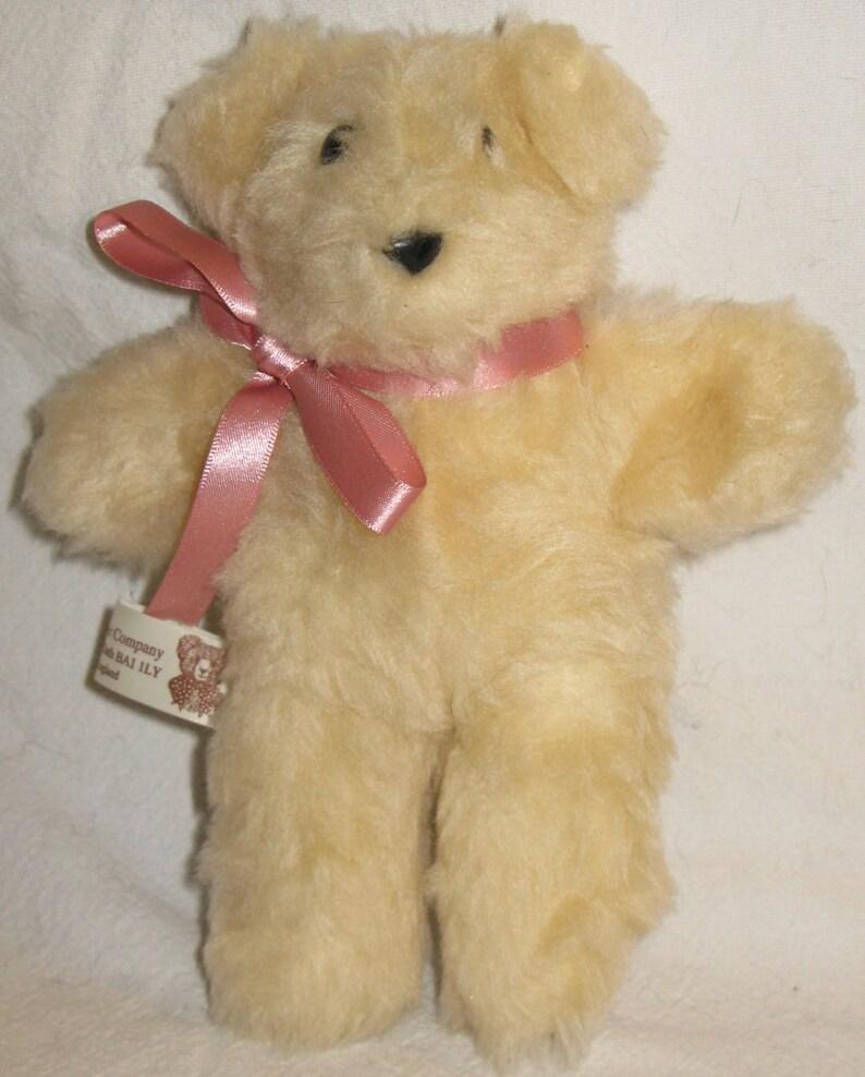a8ecb5a00a4 Vintage Handmade English Teddy Bear Company Plush Stuffed