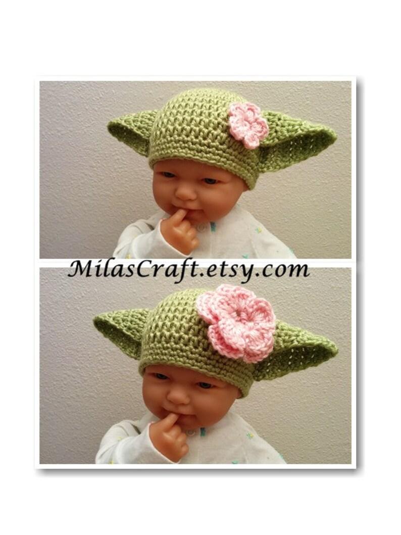 d44c2a924661b Newborn 0-3 mo Ready to ship Yoda Baby Boy Girl Set  Hat