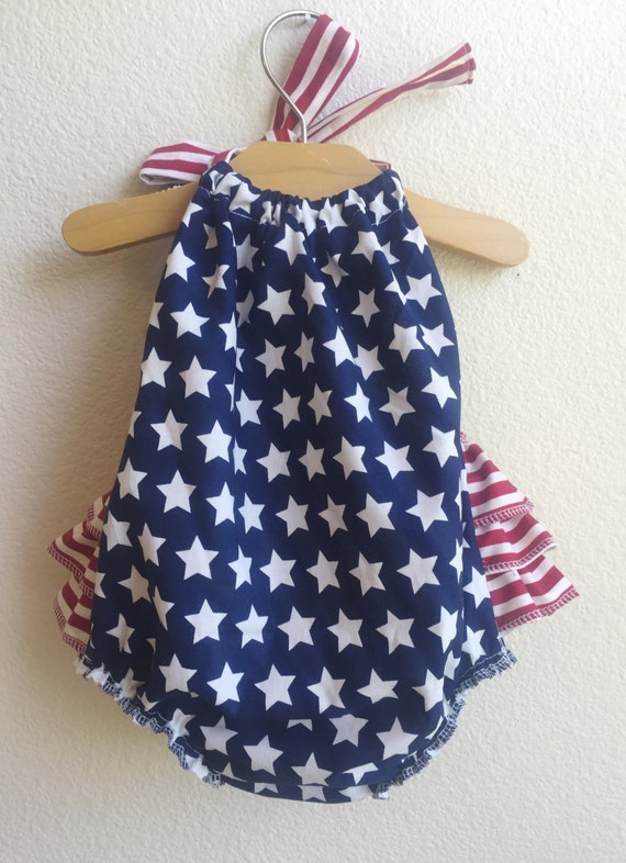 2a1001a9534e RTS   Liberty Ruffled Baby Girl Romper. Baby Girl Romper. Baby