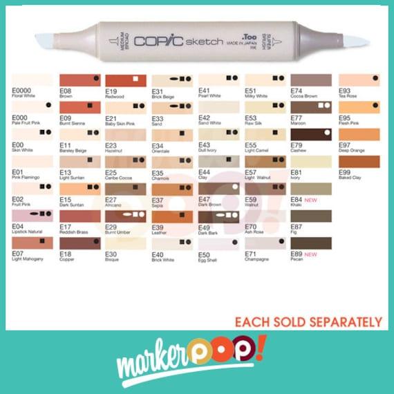 """Copic Sketch Marker Pen /""""E33-99 Color Series/"""""""