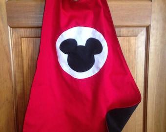 MICKEY MOUSE Kids Superhero Cape/Costume