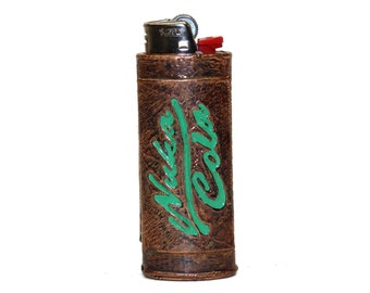 Fallout inspired Nuka - Cola Copper Bic Lighter Case