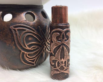 The Bilateral Symmetry Clipper - Hand Crafted Copper Electroformed Case for the Clipper Brand Lighter
