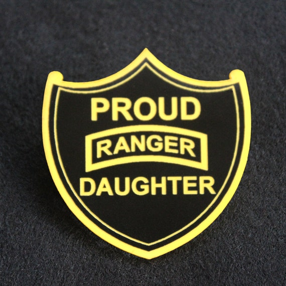 Proud Us Army Ranger Daughter Pin Etsy