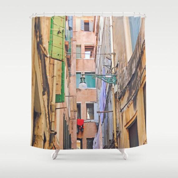 Venice Shower Curtain Italy Girls Bathroom