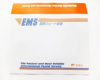 Express Mail Service (EMS) from Japan