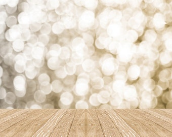 Bokeh photography backdrop for studio portraits-glitter and twinkle lights photo background D6154