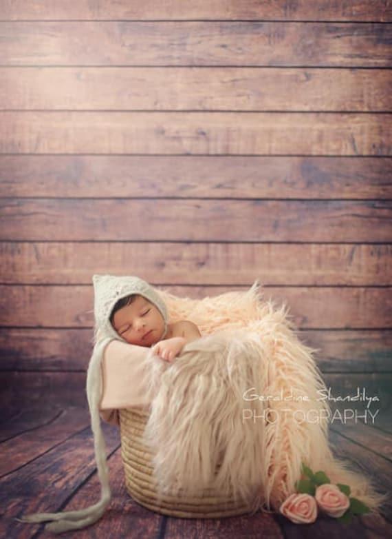 Vintage Dark Brown Wooden Self Portrait Wedding Baby Photography Background Custom Photography Studio Photography Background
