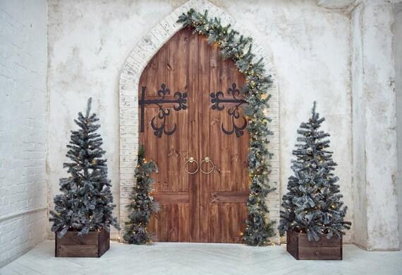 Old Grunge Church Doors For Studio Photoshoot Background Etsy