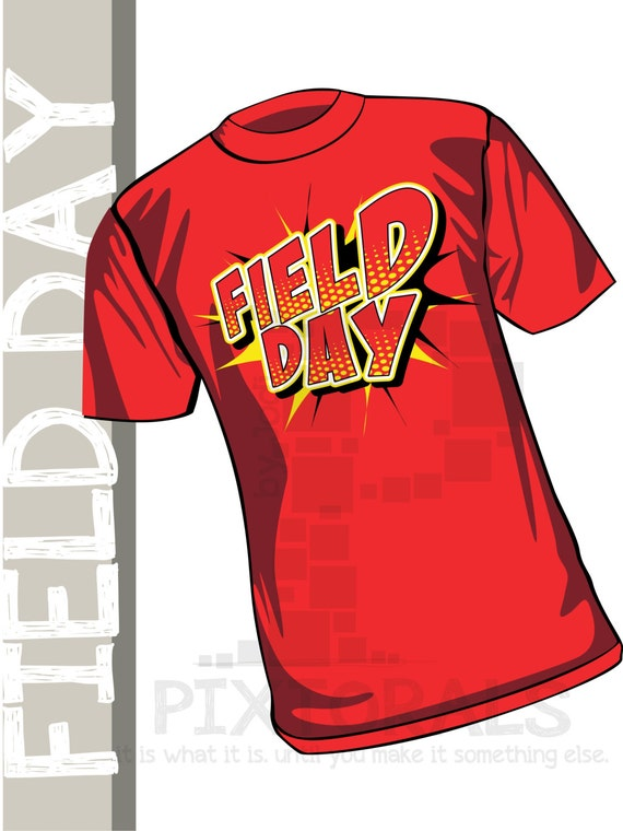 Field Day T Shirt Designs | Field Day Kids Tee Shirt Design In Corel And Eps Formats As Etsy