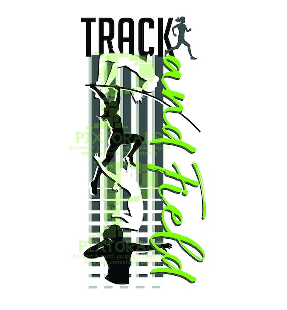 Track and field silhouette clipart | Track and field, Track and field  sports, Athletics track