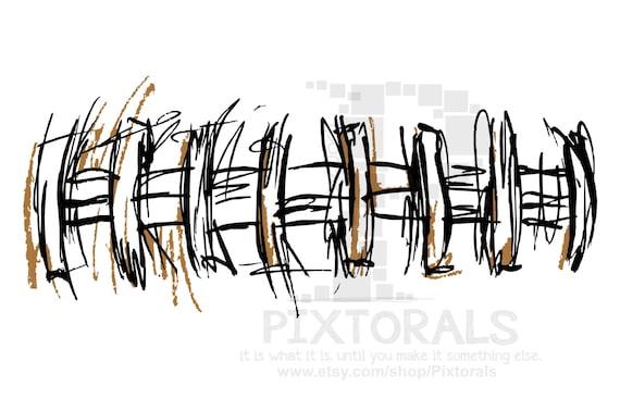 football laces eps file vector and jpeg png sketchy etsy