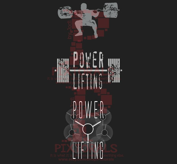png  T-shirt Graphics Powerlifting Clipart jpg pdf svg dxf Powerlifting Logo 3 Vintage Powerlifting Designs eps