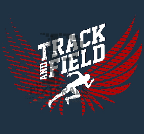 PNG EPS Track Logo Vector Art Track and Field Design Track Clipart jpeg T-shirt Graphics