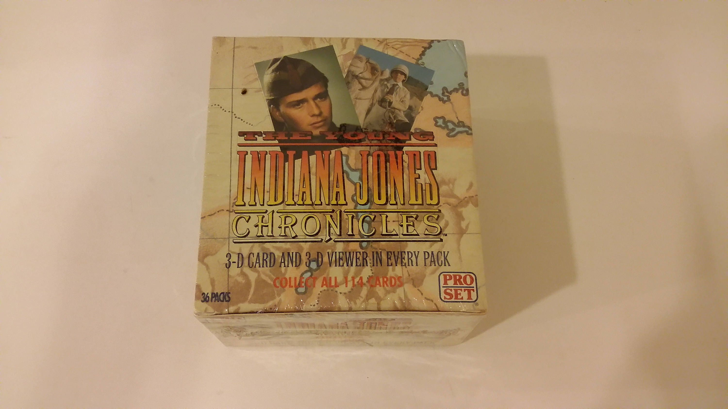 1992 PRO SET CARDS YOUNG INDIANA JONES CHRONICLES COMPLETE SET WITH 3D CARDS