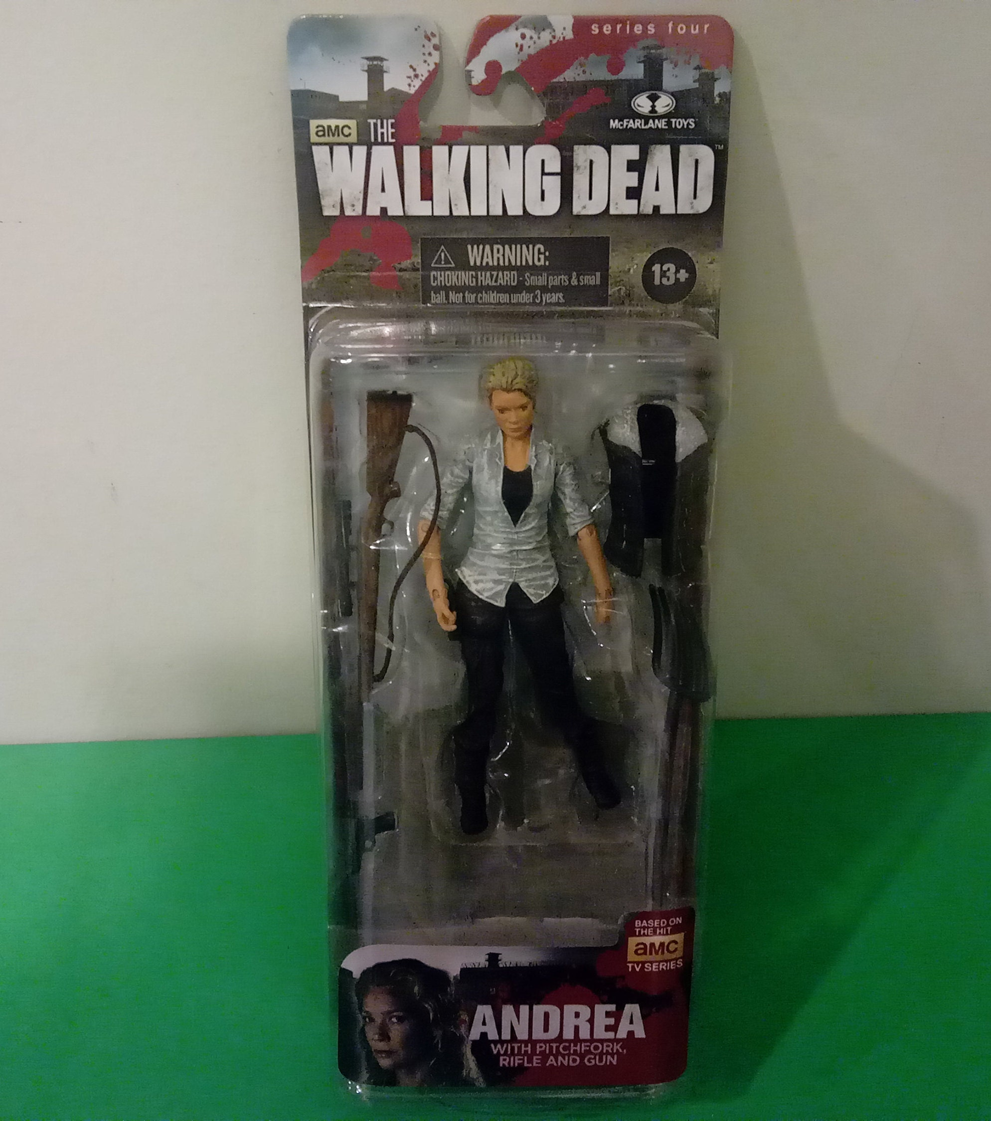 McFarlane Toys, The Walking Dead AMC TV Series 4, Andrea Action