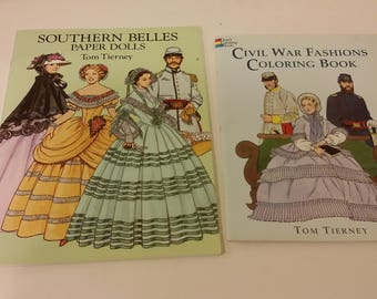 Southern Belles Paper Dolls in Full Color, 1993