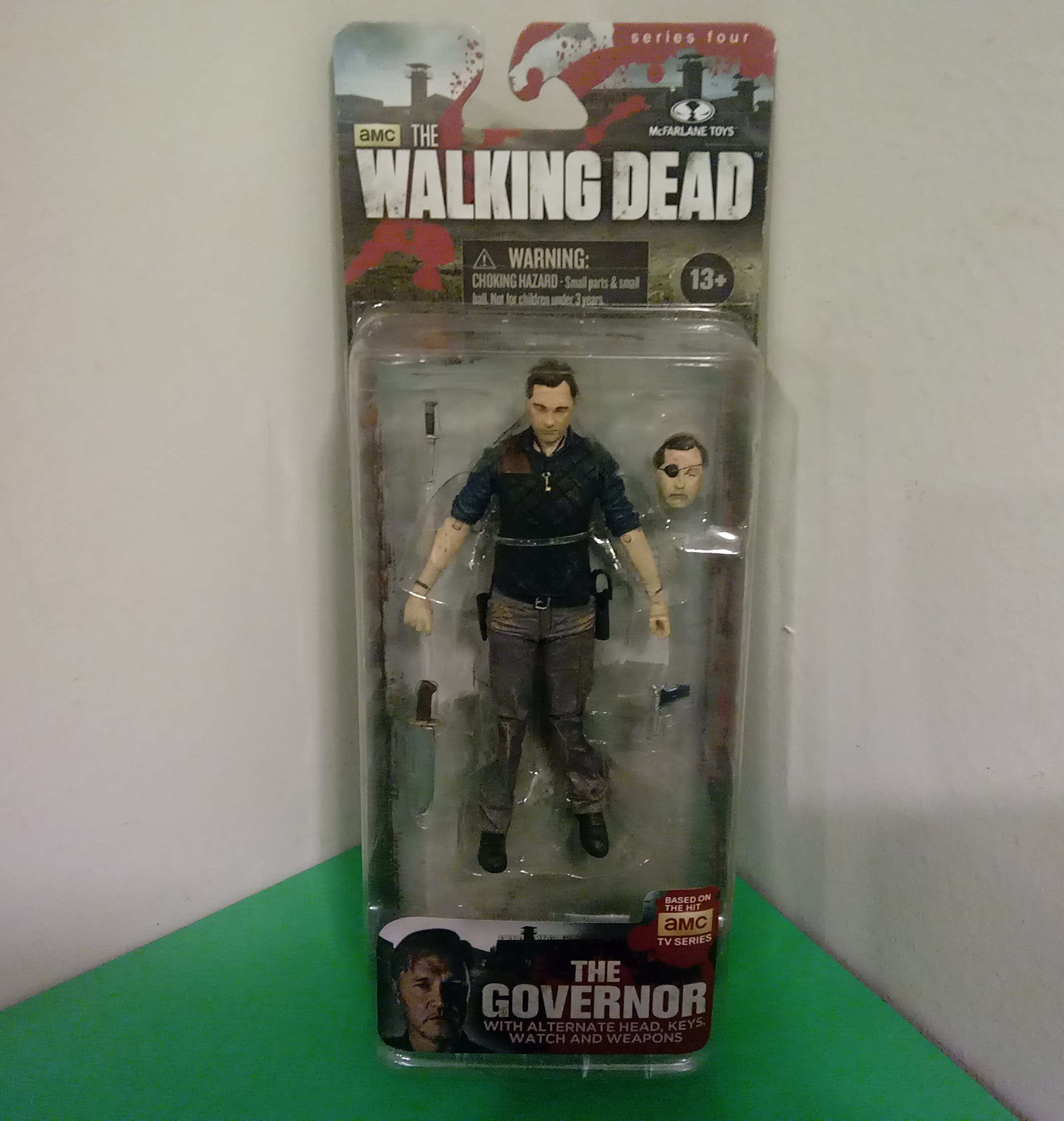 Brand New! McFarlane Toys Walking Dead Series 4 The Governor Action figure