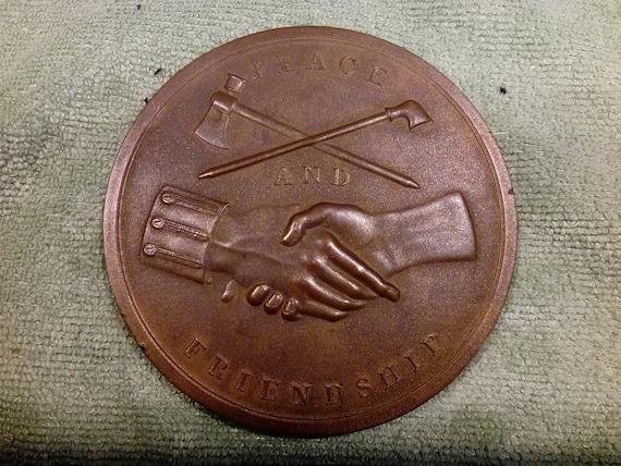 1789 Medal Mint Bronze George Washington President of the United States U.S #B