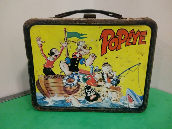Vintage Popeye Lunchbox, 1960's#