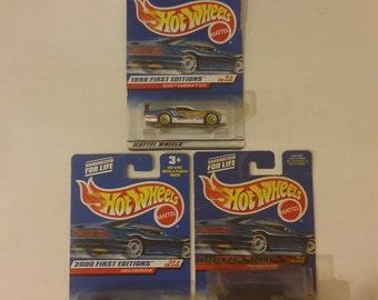 Hot Wheels Die Cast Cars, Various Cars, 1998's