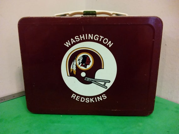 Vintage Washington Redskins Lunchbox, 1970's#