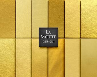 gold digital paper gold foil paper backgrounds set of 12 jpgs of digital gold foil textures gold backgrounds