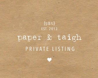 Private Listing for Stefanie Dasaro