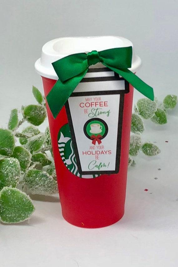 Christmas Coffee Gift Tags Teacher Christmas Gift ...