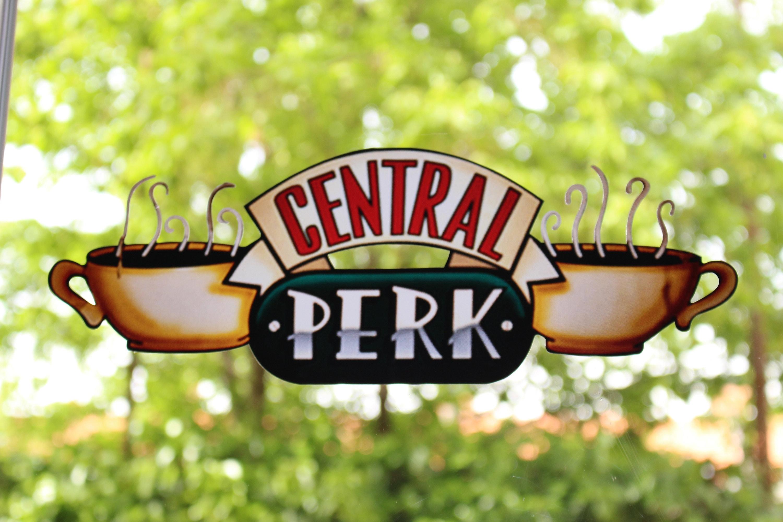Central Perk. Big Sticker. Serie Friends. 14 inch long x 5 ...