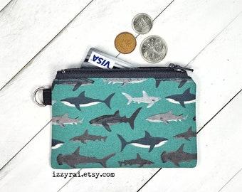 Sharks Zipper Pouch