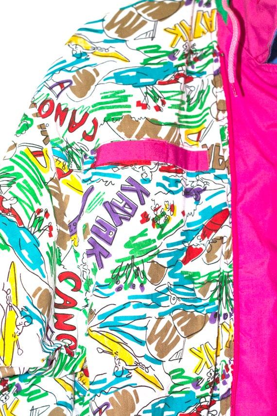 1980's vintage rainbow jacket - image 7